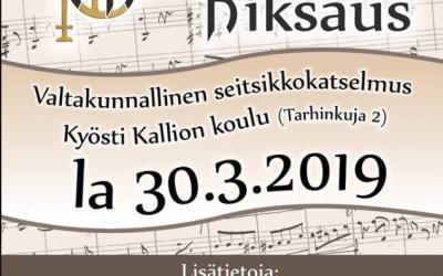 Nivalan Kiksaus 30.3.19